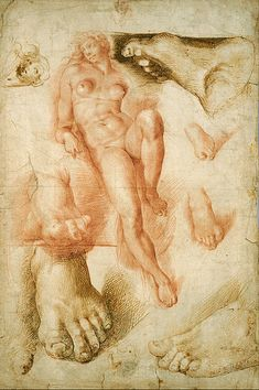 "File:Bartolommeo Passerotti - Copy after Michelangelo's ""Aurora"" - Google Art Project.jpg"