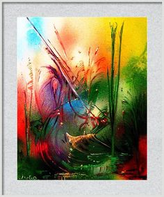 Featuring the painting Witch-dance by Nandor Molnar  (When you visit the Shop, change the size, frame, mat, paper and finish as you wish)