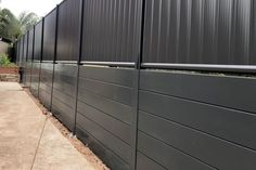 Concrete Sleeper Retaining Walls, Concrete Sleepers, Retaining Wall Design, Concrete Retaining Walls, Double Carport, Wall Ideas, Great Rooms, Fence, Life Hacks