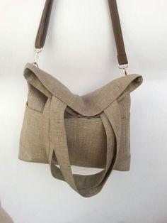 Borsa a spalla e tracolla, borsa shopping di Virgin - Handmade Bags and more  su DaWanda.com
