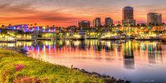 Beautiful Long Beach, California..,
