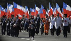 ¿Como celebran el bicentenario en Chile?