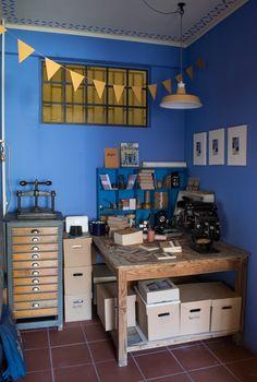 Το εργαστήριο μου !!! | NEANIKON Greek Design, Desk, Furniture, Home Decor, Desktop, Decoration Home, Room Decor, Table Desk, Home Furnishings