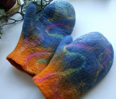Felters Journey - Felt gloves / mittens