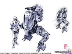 Star Wars Art Gallery | Star Wars Galactic Battlegrounds Walker Concept Art | Gallery at ...