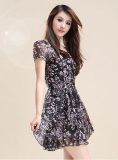 93ca248c7a97 2014 New Women Spring Slivering Lace Short Sleeve Dress