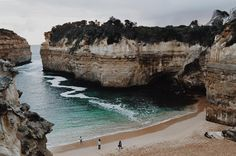 Sea air is the best air Loch Ard Gorge - 4pm -  Nikon D3200      #yearabroad #lockardgorge  #winter  #tourist #itscold  #blog #photogrpahy #nikon #clubnikon #iphone #igersmelbourne #visitmelbourne #cityofmelbourne #australia #travel  #melbournesights #melbmoment #melbournewalkabout #visitvictoria #visitmelbourne  #melbonpix #beach  #spring #newexperiences #mountains #nature  #realaustralia #greatoceanroad