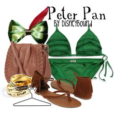 Peter Pan, created by lalakay on Polyvore #disney