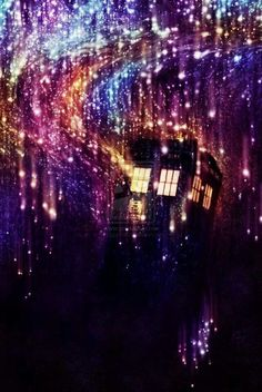 Beautiful tardis