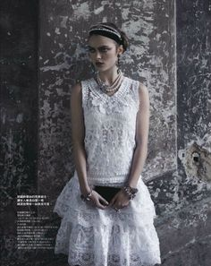 gentle temptations: sophie vlaming by pasquale abbattista for elle taiwan april 2012