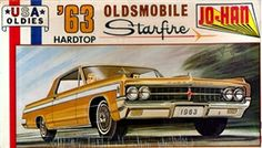 Jo-Han 63 Oldsmobile Starfire  box art
