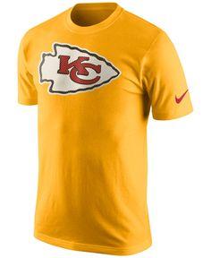 4787d8045 Nike Men s Kansas City Chiefs Mesh Logo T-Shirt Men - Sports Fan Shop By  Lids - Macy s