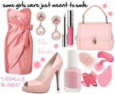 Elle Woods inspired outfit from Legally Blonde: The Musical