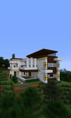 Egyszerü de mégis mutatos Minecraft ház