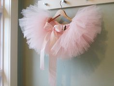 not only do i love the tutu, i love the paint color on the walls!