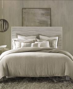 Hotel Collection Linen Natural King Duvet Cover Bedding Collections Bed Bath Macy S Bedrooms Pinterest Queen And