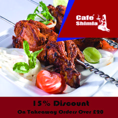 Cafe Shimla, top-ranked Indian Restaurant in Luton, offers delicious Indian food for you to enjoy. Our first-class service creates the unrivalled ambience for the perfect Indian cuisine experience, ensuring that all have the opportunity to enjoy the perfect cuisine. See the full menu and offers of this Indian Takeaway in Luton and select the best deal for you. Place your order now in just a few clicks. You can pay via cash or card. Indian Food Recipes, Ethnic Recipes, Shimla, Tandoori Chicken, Opportunity, Menu, Restaurant, Top, Menu Board Design