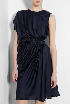 Navy Dresses #2dayslook #lily25789 #NavyDresses  www.2dayslook.com