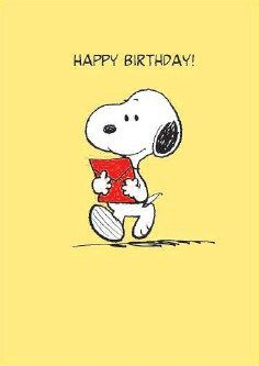 Feliz Cumpleanos Snoopy Happy Birthday