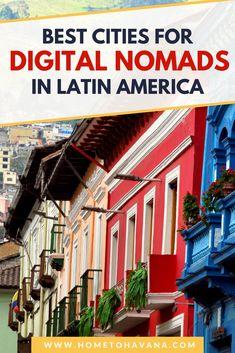Being a digital nomad is easier than every in South America, Central America, Mexico, and the Caribbean, and there are more cities and towns attracting digital nomads that ever before. These are some of our favorite cities for digital nomads in Latin America, including spots in Guatemala, Ecuador, Argentina, Colombia, and more. #laptoplifestyle #digitalnomad #longtermtravel #onlinebusiness Travel Around The World, Around The Worlds, Lake Atitlan, South America Travel, Beach Town, Puerto Vallarta, Digital Nomad, Latin America, Best Cities