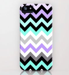 Love this chevron phone case! Love the colors!