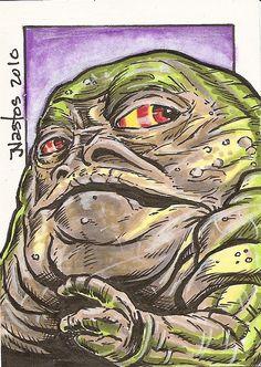 Star Wars - Jabba the Hutt: More Jabba.
