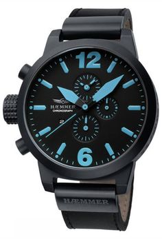 Haemmer Germany, HC-30 Asprezza, Big Face watch, Oversized watches | Evosy - The Premier Online Destination for Watches and Accessories
