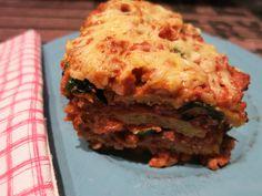 Meine Low Carb Rezepte: Bärlauch-Blumisagne - Eine leckere Blumenkohl-Lasagne mit frühlingshaftem Bärlauch