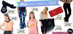 ¡Más ropa por menos $$$!  ¡Ingresá en www.tiendadcm.com y llevate todo!
