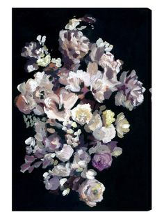 Oliver Gal 'Beauty in Darkness' Art on High Gloss Acrylic by Oliver Gal at Gilt