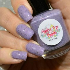 Native War Paints Purple Reign Collection - Purple Pachyderms and Rainbows