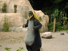Costume for the play 'Jungle Book'  made by me - Baloo