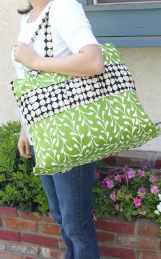 pottery barn inspired tote tutorial – kojodesigns
