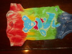 The absolutely cutest tie dye baby clothes