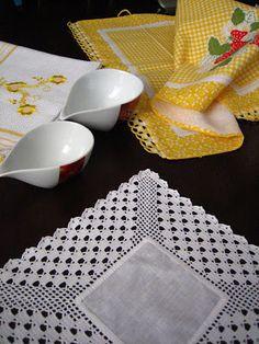 Filomena Crochet e Outros Lavores: - Conversa séria! Crochet Dollies, Crochet Lace Edging, Crochet Fabric, Crochet Borders, Crochet Squares, Filet Crochet, Crochet Shawl, Crochet Patterns, Crochet Motif