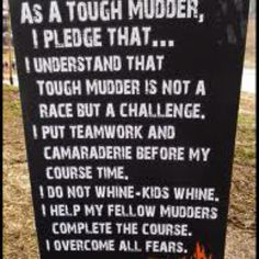 [x] Tough Mudder (May 2012, July 2013)