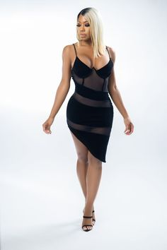 Rock this hot Date Night Bodycon Dress for an unforgettable night out that will have all eyes on you wherever your escapades take you. Featuring a mesh overlay, this bodycon dress creates a unique look that's equal parts sultry and elegant. The neckline and spaghetti straps give you a figure-hugging fit that effortlessly flaunts those killer curves. #richlifestyle #richaesthetic #luxurydress #luxurydressclassy #luxuryoutfits #cutetops #fashionlooks #classydress #partyoutfit #partyoutfitsnight Elegant Dresses Classy, Glamorous Dresses, Elegant Outfit, Classy Dress, Spring Outfits Classy, Spring Fashion Outfits, Luxury Dress, Night Outfits, Fashion Looks