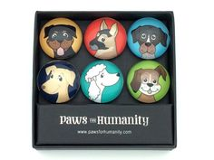 Adorable Dog-themed Fridge Magnets Valued at $19.99 (ends 11:59 Pacific Time on 7/24/16) http://ift.tt/29YrcLo