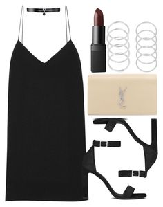 """Style #11113"" by vany-alvarado ❤ liked on Polyvore featuring The Row, Yves Saint Laurent, NARS Cosmetics and Fallon"
