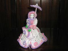 boneca de crochê cod 1