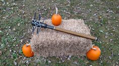 Homemade DIY Zombie Weapon. Sharp and scary! Actually functional...