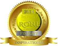 THE THREE KITTIES THAT SAVED MY LIFE is a finalist for the very prestigious RONE AWARD,