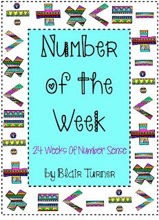 Number of the Week for Upper Grades