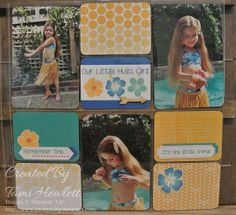 Project Life by Stampin' Up! - Hula Girl 1