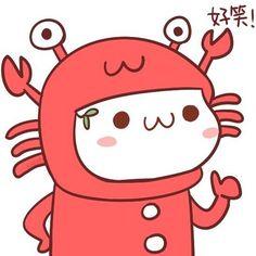 长草颜文字穿睡衣带头套带假发(・∀・)~(咦?!)感觉它越来越会玩了[拜拜]
