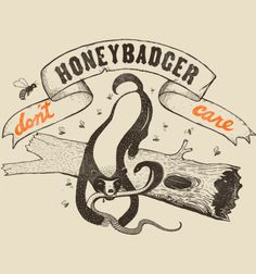 Honey Badger - BustedTees - Image 2