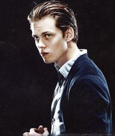 Roman from Hemlock Grove. Uncoincidentally looking just as good as his older brother.