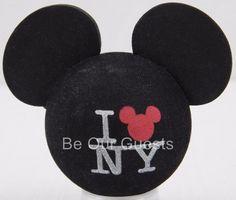 Disney Theme Parks I Love NY New York Mickey Antenna Car Topper New