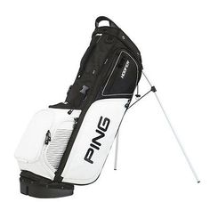 Golf Club Bags 30109: New Ping 2017 Hoofer Golf Stand Bag (Black / White) BUY IT NOW ONLY: $179.99