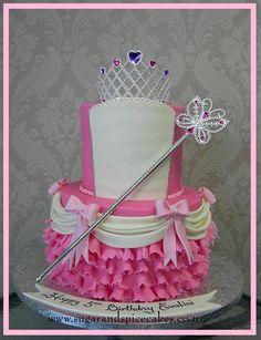 Cake for a Princess by Mel_SugarandSpiceCakes